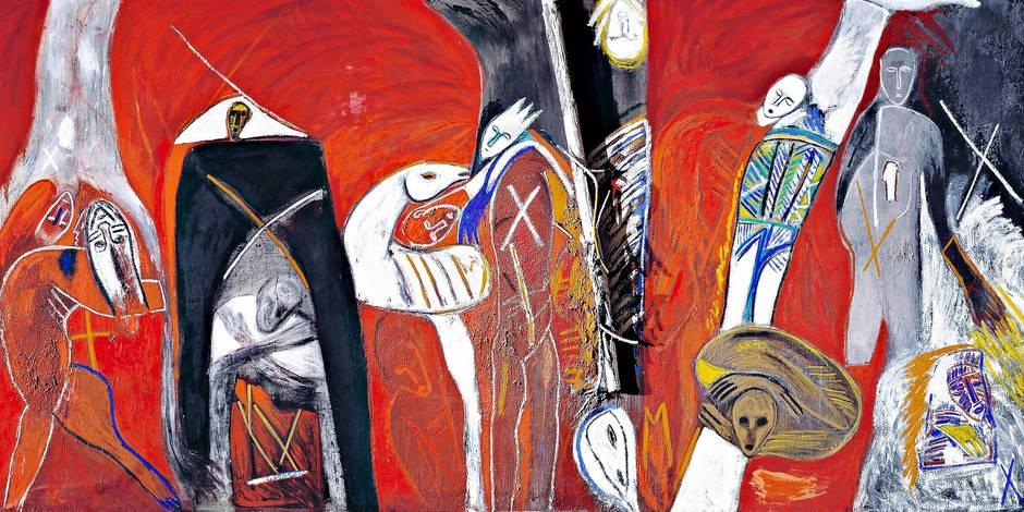 La peinture qui confronte - La Libre