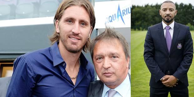 Anderlecht: Van Handenhoven et Frutos épaulent Van Holsbeeck - La Libre