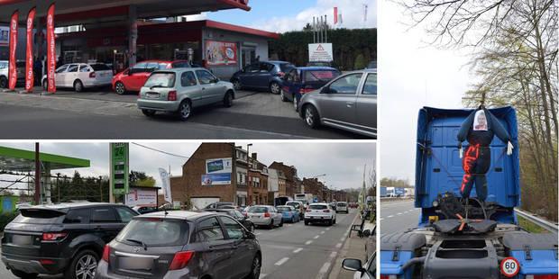 Blocages routiers: quelles stations-service sont à sec ? (CARTE) - La Libre