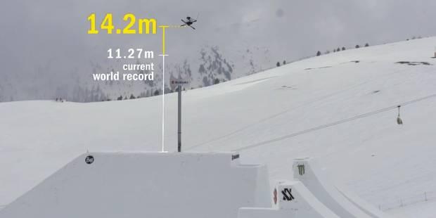 Record du monde de saut à ski pour David Wise - La Libre