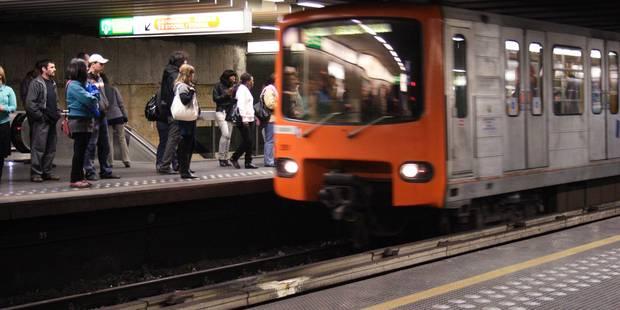 Depuis ce lundi, le métro bruxellois dessert 51 stations de 7h à 21h - La Libre