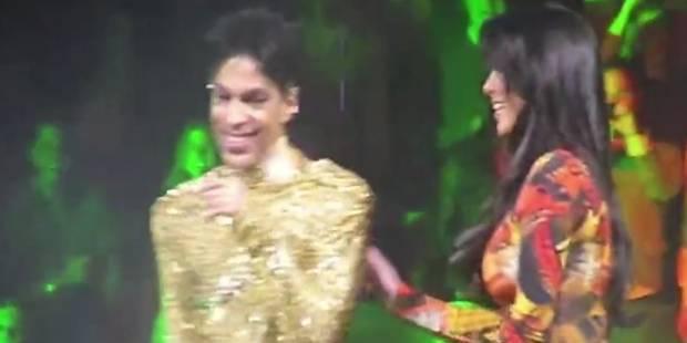 Le jour où Prince a sorti Kim Kardashian de scène - La Libre