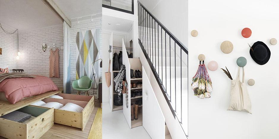 10 conseils pour optimiser les petits espaces la libre. Black Bedroom Furniture Sets. Home Design Ideas