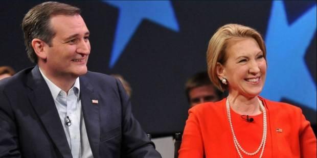 Primaires américaines: Ted Cruz choisit Carly Fiorina comme colistière - La Libre