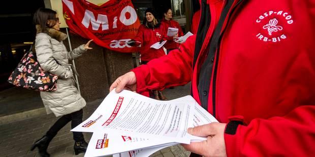 Appel à la grève générale de la centrale ouvrière de la FGTB - La Libre