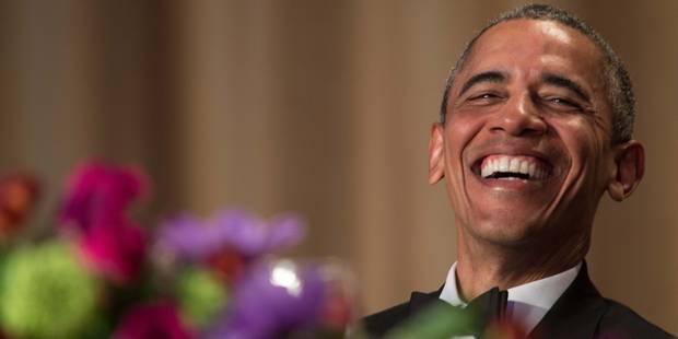 """""""Obama out"""": Obama fait rire le tout-Washington une dernière fois - La Libre"""