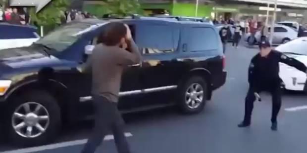 Un ancien champion de lutte se bat contre plusieurs policiers - La Libre