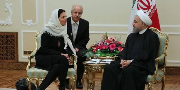 Critiquée pour son attitude en Iran, Christine Defraigne répond à Darya Safai - La Libre