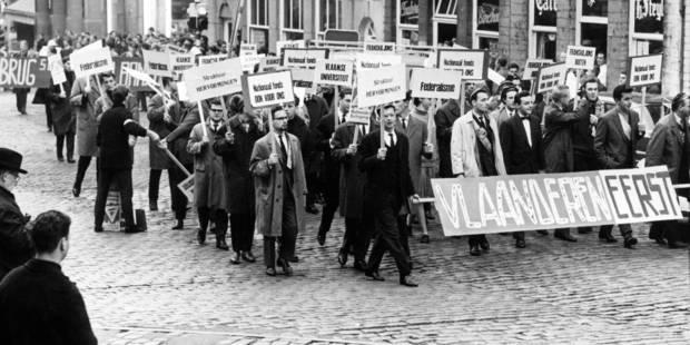 """Les deux Louvain tissent des liens 48 ans après le """"Walen buiten"""" - La Libre"""