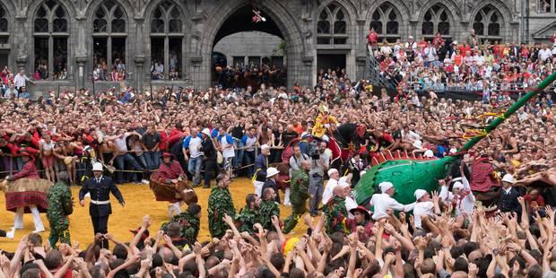 La sécurité sera au coeur de la Ducasse de Mons 2016 - La Libre
