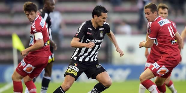 Finale aller des PO2: Charleroi s'impose in extremis face à Courtrai (1-0) - La Libre