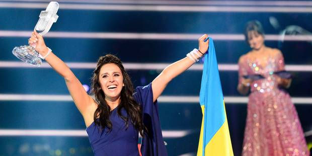 Une Ukrainienne de Crimée remporte l'Eurovision devant la Russie et l'Australie, la Belgique 10e - La Libre