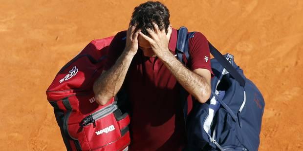 Federer est forfait pour Roland Garros - La Libre