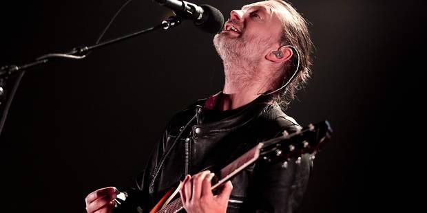 Premier concert en 4 ans pour Radiohead, qui lance sa tournée mondiale - La Libre