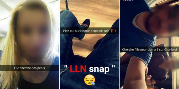 Sur Snapchat, les étudiants dévoilent leur intimité - La Libre