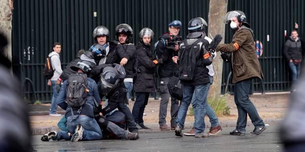 En France, la haine des policiers reste l'affaire d'une minorité - La Libre