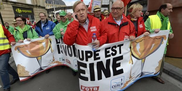 Un syndicat peut-il vraiment faire tomber un gouvernement ? - La Libre