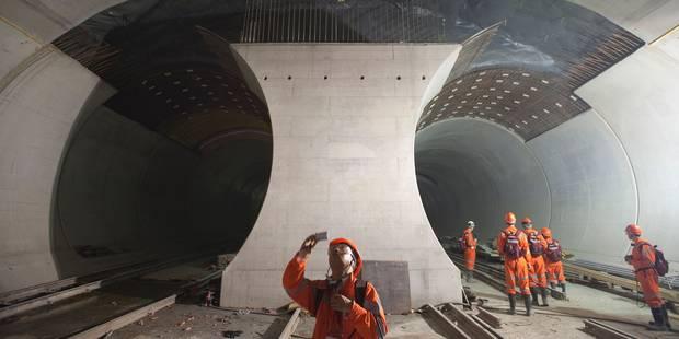 Voici le Saint-Gothard, le plus long tunnel ferroviaire au monde (INFOGRAPHIE) - La Libre