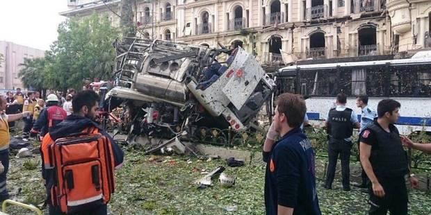 Turquie: 11 morts, 36 blessés dans un attentat visant la police à Istanbul - La Libre