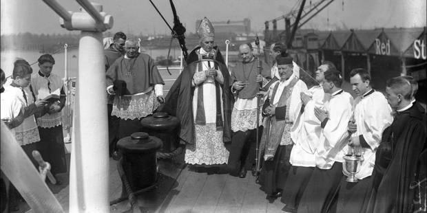 Le cardinal Mercier divise toujours la société flamande - La Libre