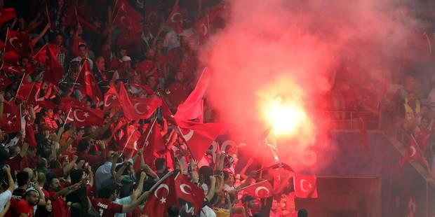 Euro 2016: incidents avant et après Espagne-Turquie - La Libre