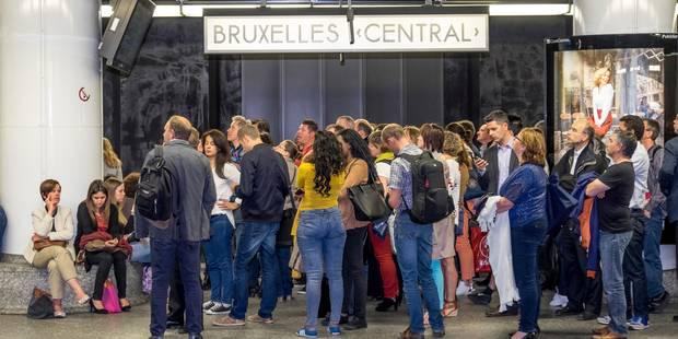 La circulation des trains a repris à Bruxelles après l'évacuation de la Gare Centrale - La Libre