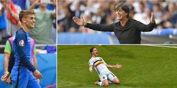 """Eden Hazard superstar, Joachim Löw remet ça, le double coup de """"Grizou"""": les 5 choses qu'il ne fallait pas rater ce dima..."""