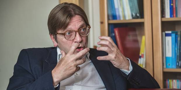 Brexit: Guy Verhofstadt parmi les négociateurs du Parlement européen sur le Brexit - La Libre