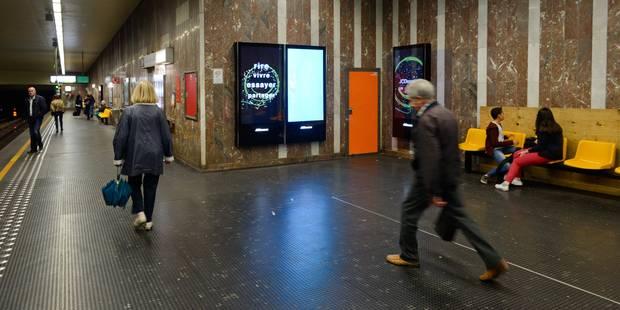 Colis suspect: la circulation interrompue dans le métro bruxellois - La Libre