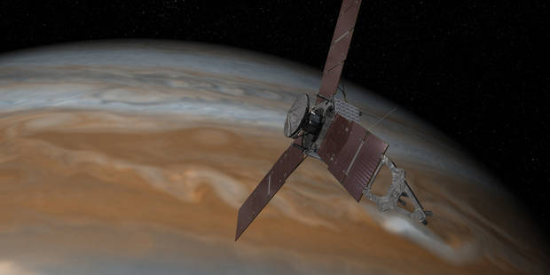 Juno a rendez-vous avec les mystères de Jupiter - La Libre