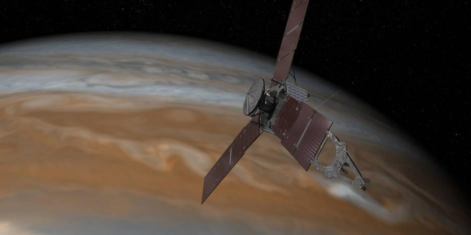 La sonde Juno autour de Jupiter: pour quoi faire? (INFOGRAPHIE) - La Libre
