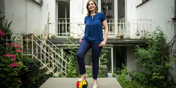 """Christine Schréder: """"Le foot chez moi, c'est naturel"""" - La Libre"""