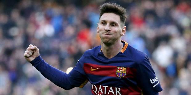 Messi condamné à 21 mois de prison pour fraude fiscale - La Libre