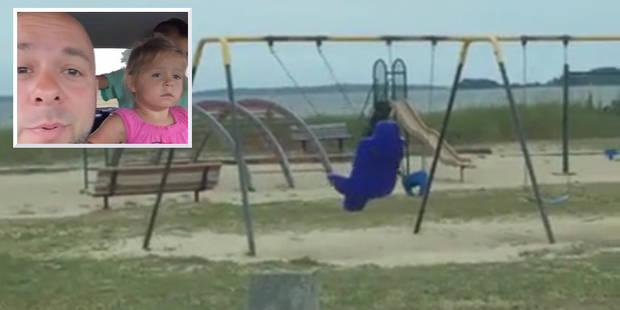 Découverte stupéfiante pour cette famille: comment cette balançoire bouge-t-elle toute seule? (VIDEO) - La Libre