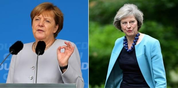 """Brexit: Merkel demande à Londres de clarifier """"rapidement"""" la situation - La Libre"""