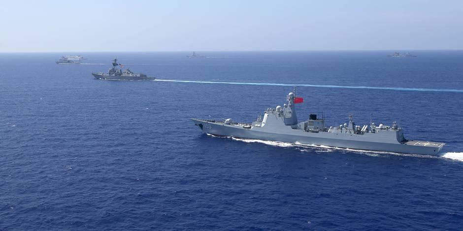 Mer de Chine: Les ambitions de Pékin dans les Spratleys prennent l'eau - La Libre