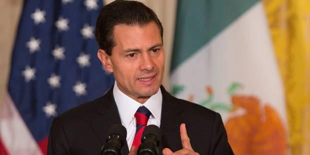 Le président mexicain ne veut pas dresser un mur entre lui et Trump - La Libre