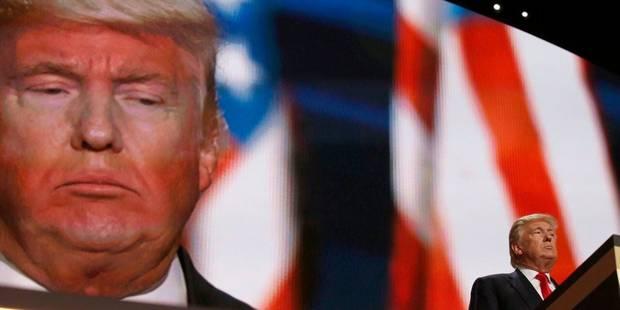 """""""Candidat de l'apocalypse"""", """"sauvage orange"""": les médias tremblent à l'idée d'une victoire de Donald Trump - La Libre"""
