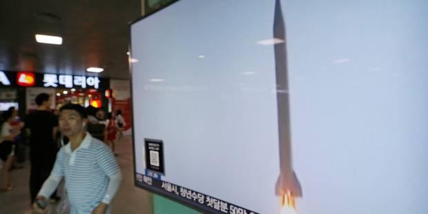 Washington prêt à défendre ses alliés: tir de missile nord-coréen - La Libre