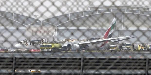 Accident d'Emirates: l'aéroport de Dubaï de nouveau opérationnel - La Libre