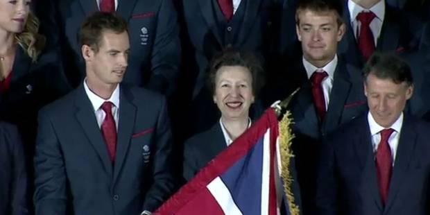 Andy Murray, porte-drapeau maladroit des Jeux de Rio (vidéo) - La Libre