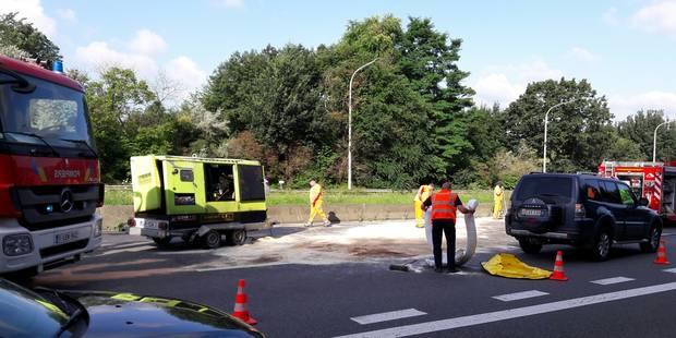 Accident sur la E411 à Wavre: des travaux qui pourraient durer... plusieurs jours - La Libre
