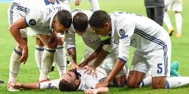 Le Real remporte la Supercoupe d'Europe au terme d'un match fou (3-2) - La Libre