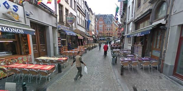Bruxelles: bagarre générale aux tessons de bouteille en rue - La Libre