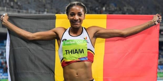 """Historique, Thiam décroche l'or olympique ! """"Plus que tout ce dont j'ai jamais rêvé!"""" - La Libre"""