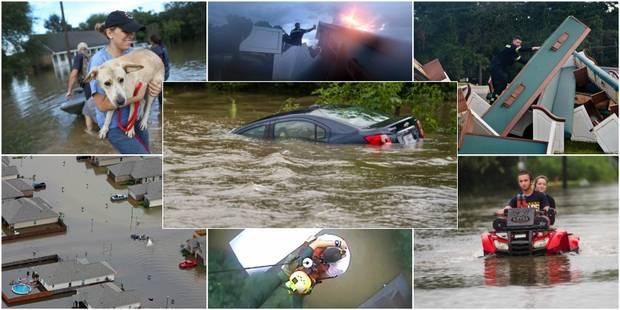 Les images impressionnantes des pluies torrentielles en Louisiane (PHOTOS et VIDEOS) - La Libre