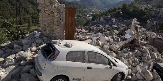 Séisme en Italie: 267 morts et 387 blessés, une quarantaine de secousses dans la nuit (PHOTOS) - La Libre