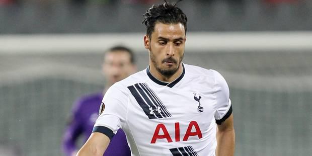 Le Diable rouge Nacer Chadli quitte Tottenham - La Libre