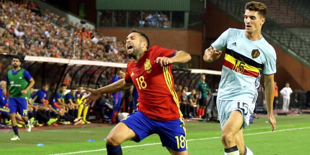 """Thomas Meunier: """"C'était le jour et la nuit entre la Belgique et l'Espagne"""" - La Libre"""