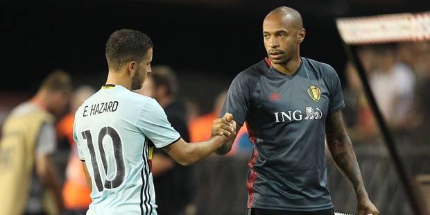 """Thierry Henry : """"Je crois que cette équipe peut entrer dans l'histoire"""" - La Libre"""